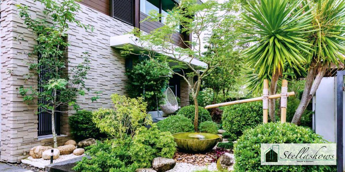 การจัดสวนสไตล์ญี่ปุ่นในบ้าน