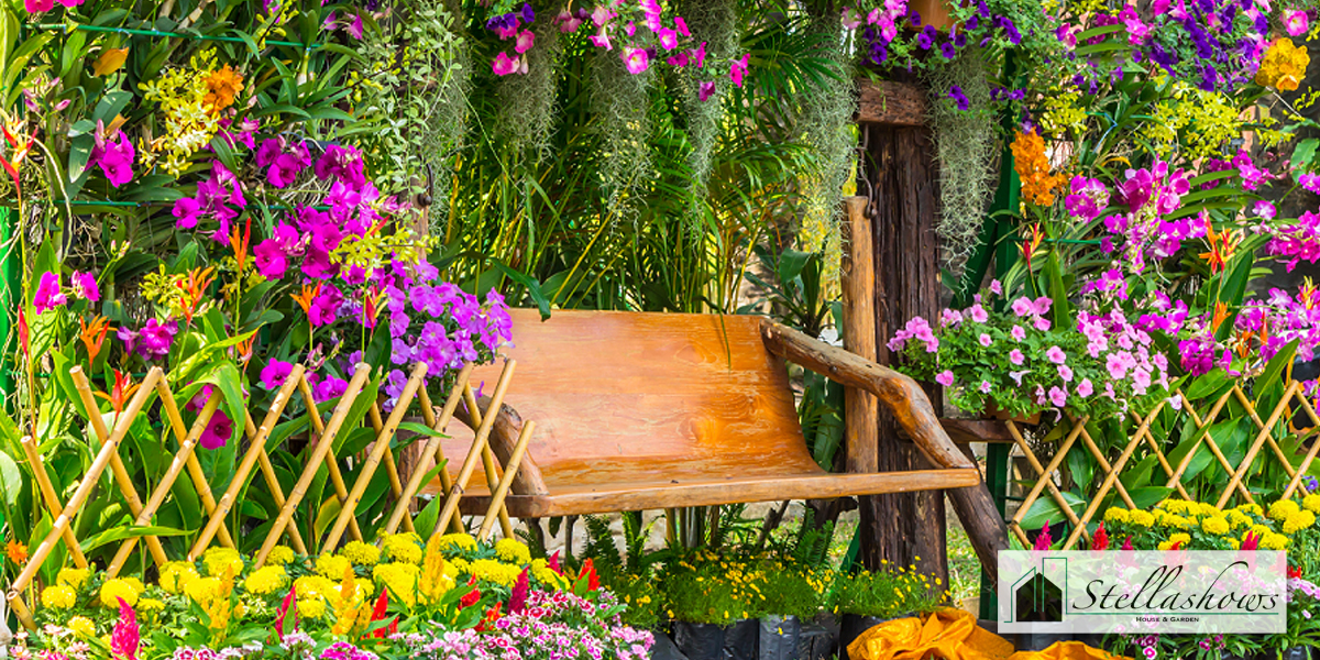 ไอเดียจัดสวนสวยหลากสีสัน