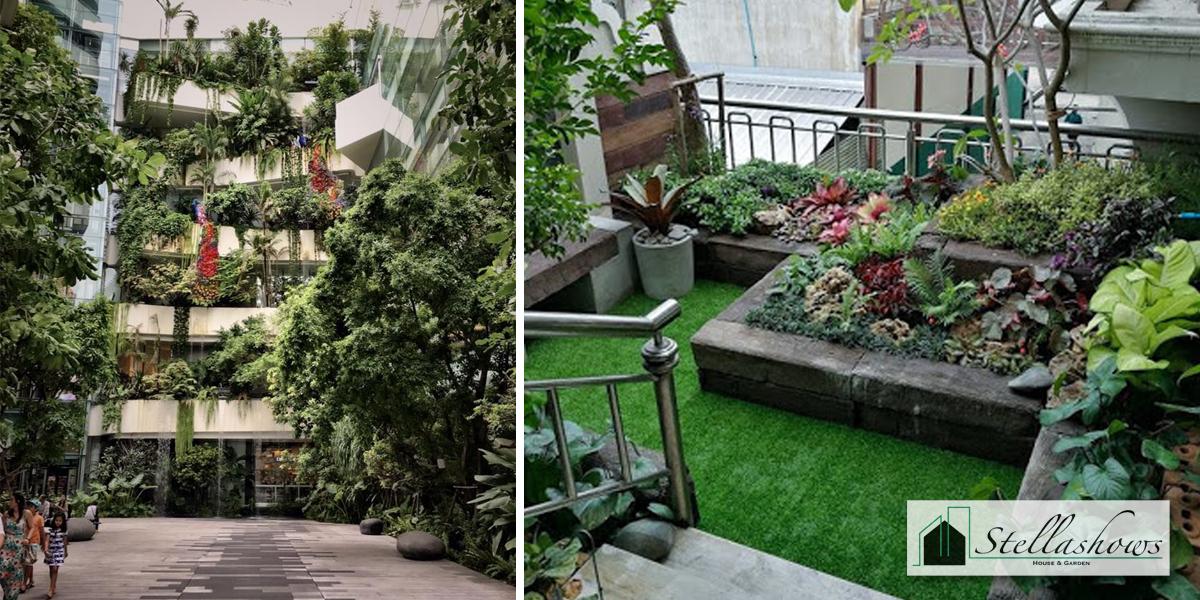 อยู่หอพักระเบียงแคบก็จัดสวนได้ด้วยสไตล์สวนลอยฟ้า