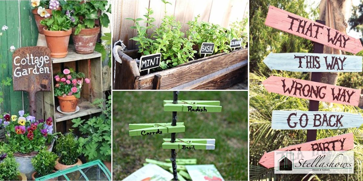 DIY ทำป้ายตั้งสวนหย่อมฉบับทำเองง่ายๆ